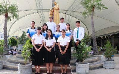 ยินดีต้อนรับคณะผู้ใหญ่และครูใหม่ ประจำปีการศึกษา 2563