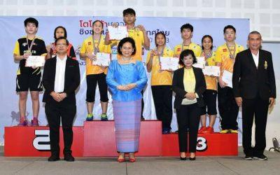 การแข่งขันแบดมินตัน TOYOTA เยาวชนชิงชนะเลิศแห่งประเทศไทย 2563